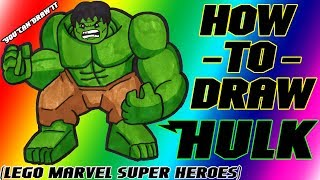 How To Draw Hulk from Lego Marvel Super Heroes ✎ YouCanDrawIt ツ 1080p HD