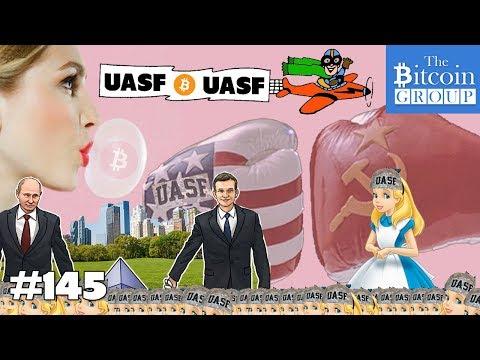 The Bitcoin Group #145 - UASF, Putin, Ethereum, Singapore and the Bitcoin Bubble