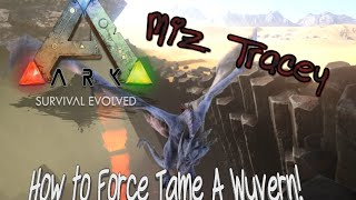 Download lagu How to Force Tame Wyverns on Ark Survival Evovled Scorched Earth MP3