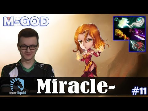 Miracle - Lina MID | M-GOD | Dota 2 Pro MMR Gameplay #11