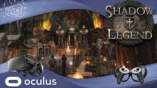 Shadow Legend/ Oculus Rift ( coming PSVR ) ... first impression /lets play / deutsch / german / live