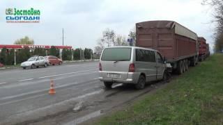 ДТП на трасі Кіцмань - Чернівці