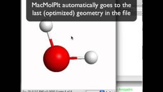 Electron density plots of water  Making Figure 3.1 from Molecular Modeling Basics
