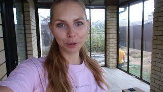 Vlog 🍁 воспалился глаз расчищаем участок вырастили кукурузу играем в Кубички
