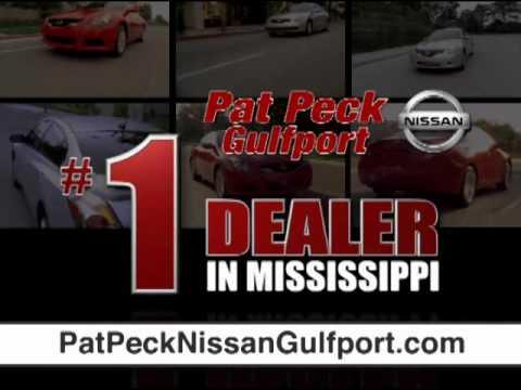 PAT PECK NISSAN GULFPORT, MS TV   Altima Price U0026 Lease