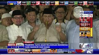 Seperti 2014, Prabowo Subianto Kembali Sujud Syukur