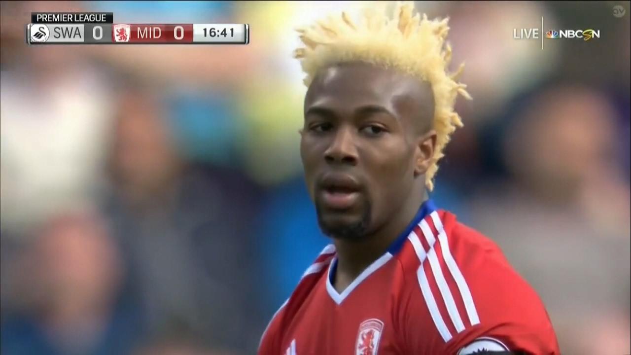 Adama Traore vs Swansea (Away) 16-17 HD (2/4/2017) - YouTube