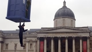 "DOCTOR WHO *Exclusive Extended* Inside Look: Trafalgar Square Filming on ""The Day of The Doctor"""