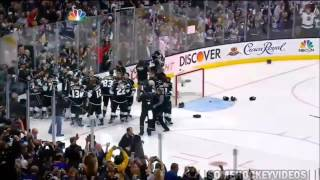 Los Angeles Kings Win The Stanley Cup 2014 - Alec Martinez Second Overtime Goal