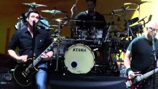 """So Cold & Lead Singer Yells At Fight in Crowd"" Breaking Benjamin@Camden, NJ 5/16/15"