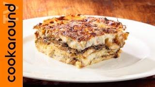 Lasagne Di Verdure Con Zucchine E Melanzane / Ricetta Vegetariana