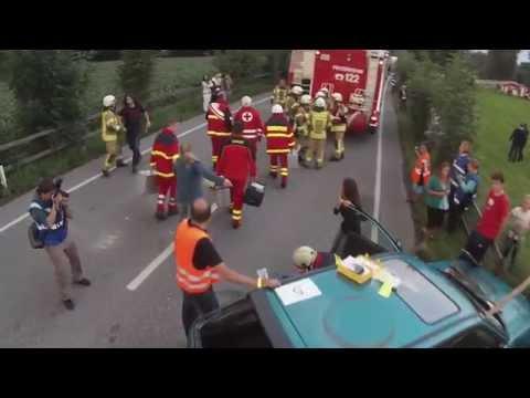Feuerwehrübung Dornbirn