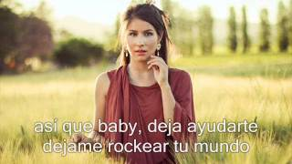 Denise RosenthaI -wanna give my heart (letra en español)