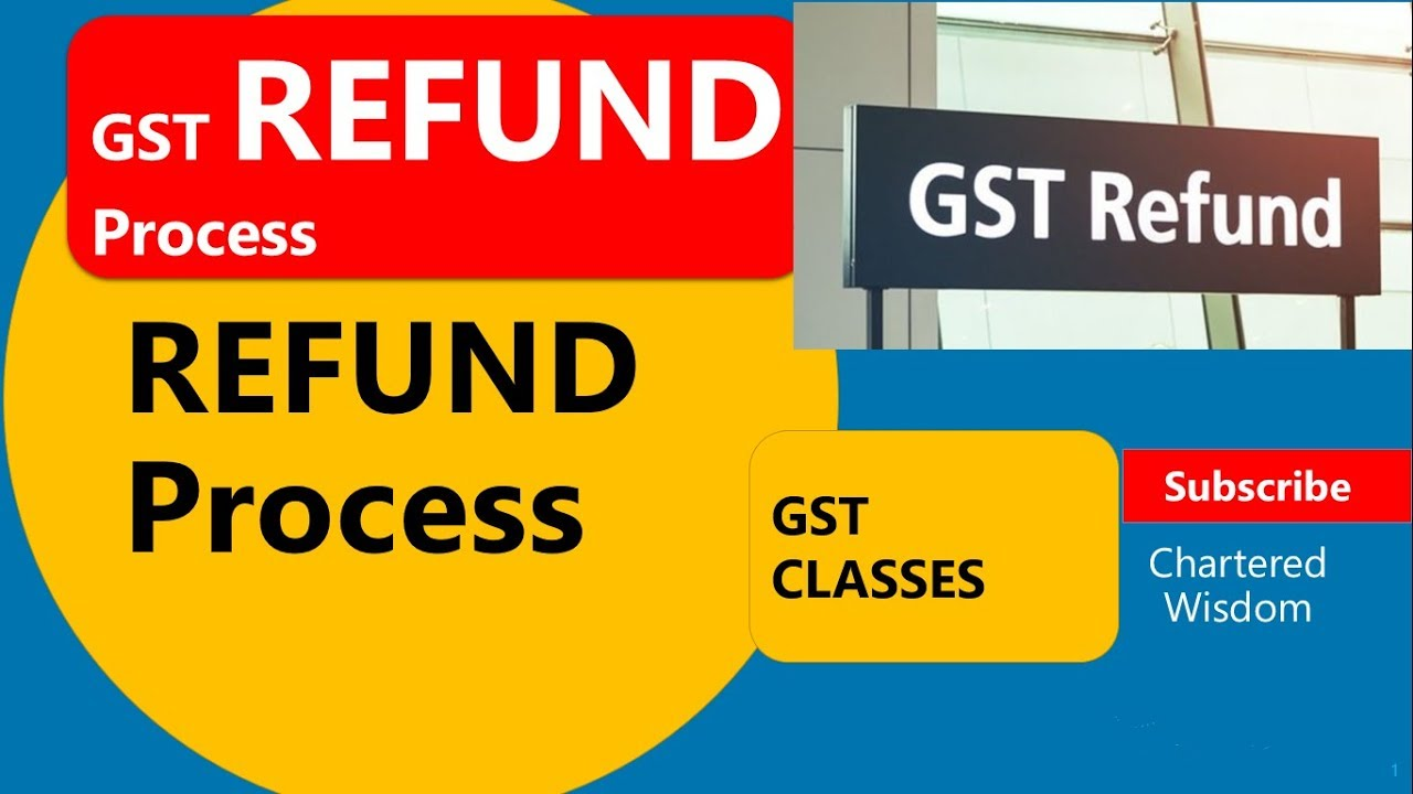 GST REFUND PROCESS | कब और कैसे GST में REFUND CLAIM करे | Section 54 |  Complete Step by Step Guide