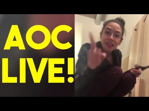 Bobby Gunther Walsh - AOC on Instagram Live!