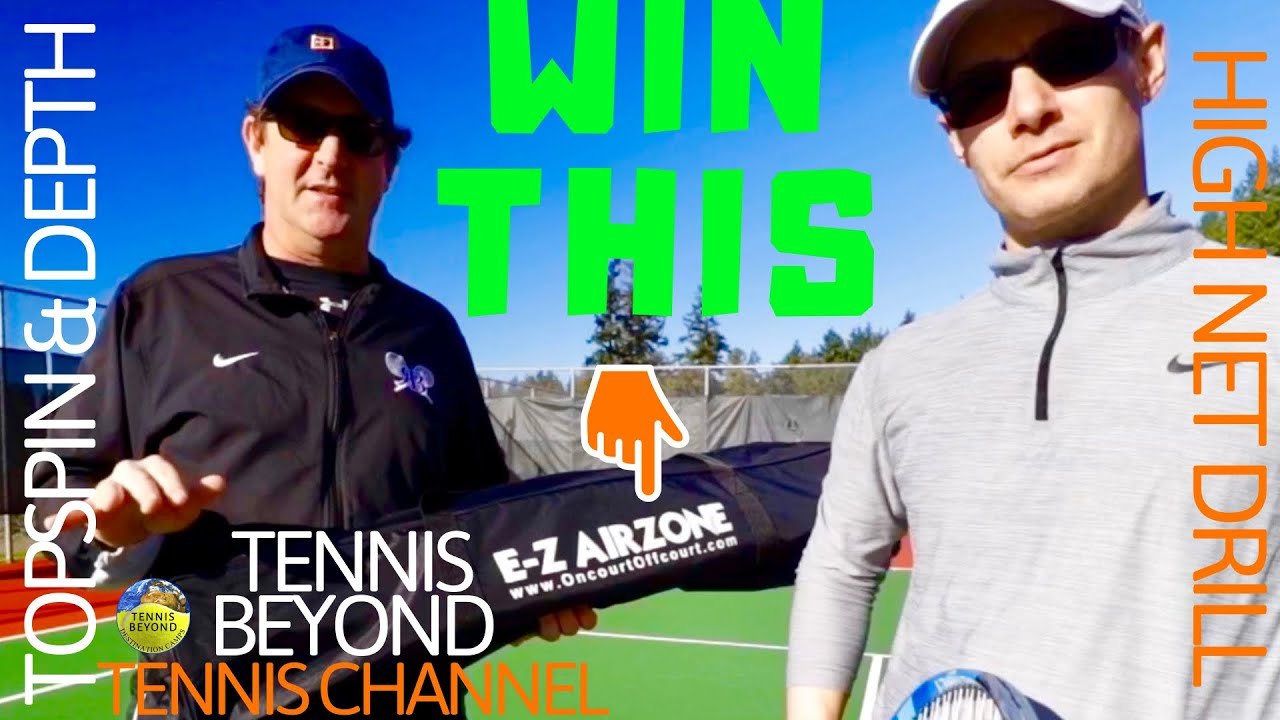 We Have A Giveaway / How To Hit Topspin And Depth / Tennis Beyond Tennis Channel