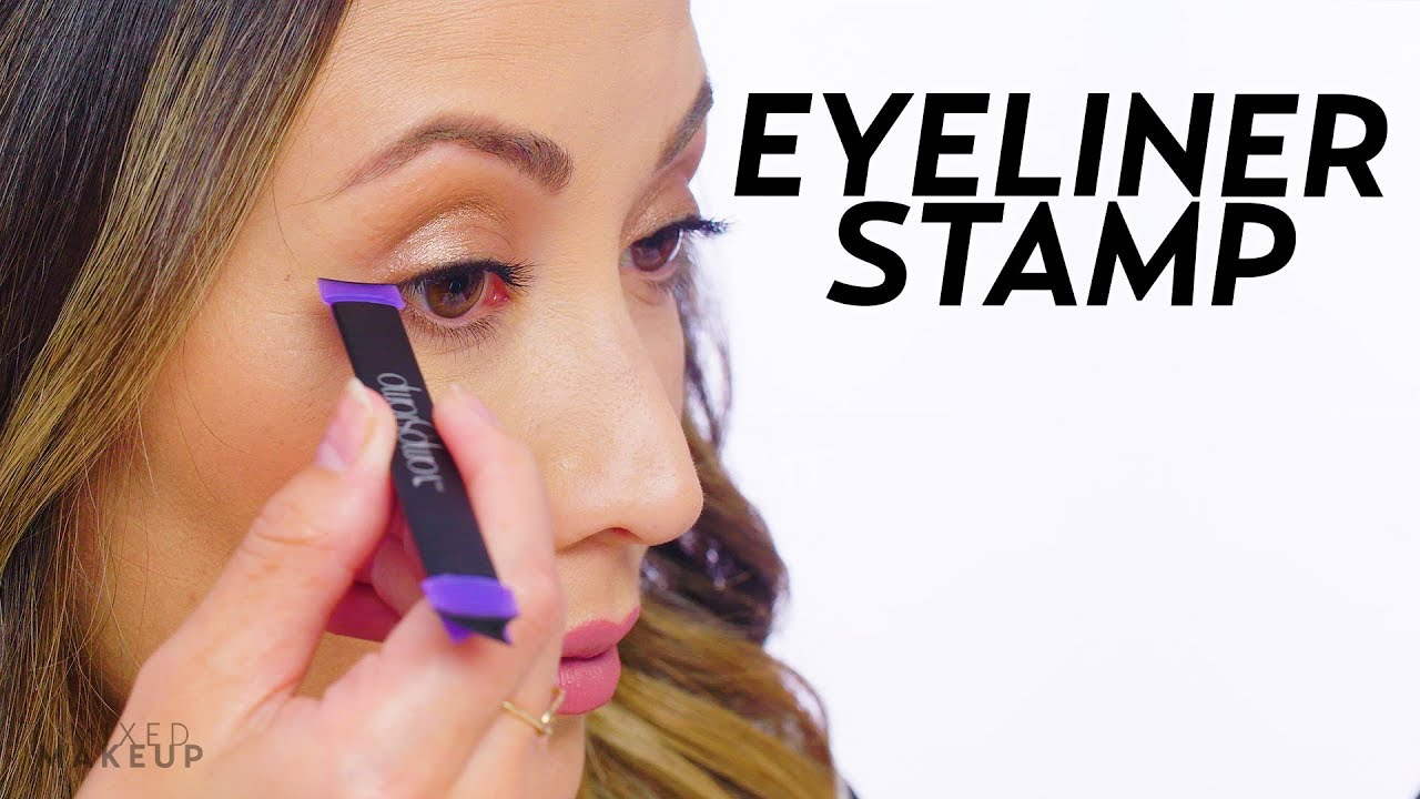 Vamp Stamp Review I Tried An Eyeliner Stamp Beauty With Susan Yara