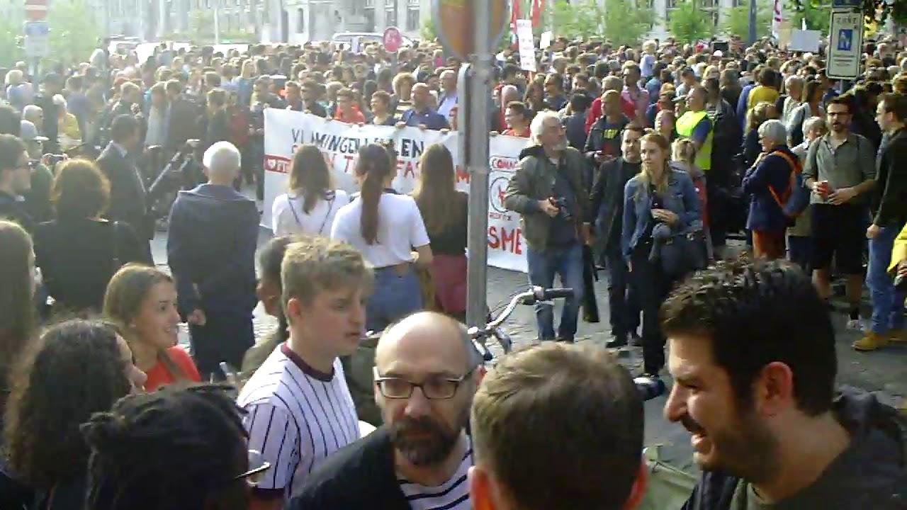 Rassemblement Anti-Fasciste 29 mai 2019  à Liège -