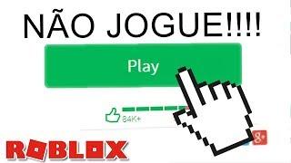 NÃO JOGUE O JOGO MAIS TROLL DO ROBLOX - The Trolling Obby