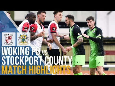 Woking Stockport Goals And Highlights