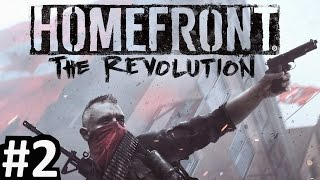 HOMEFRONT THE REVOLUTION PS4 Gameplay Walkthrough Part 2