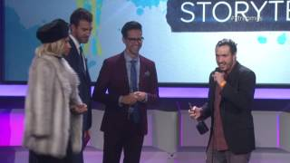 "Shaun ""Shonduras"" McBride (shonduras) Wins Snapchat Storyteller - Streamy Awards 2016"