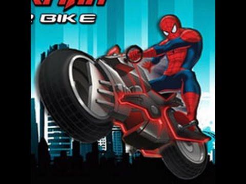 Marvel spiderman comics bike play motorcycle game youtube - Spider man moto ...
