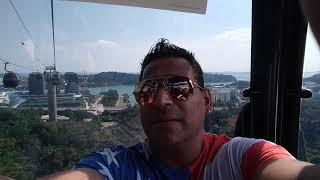 Cable car at Singapore
