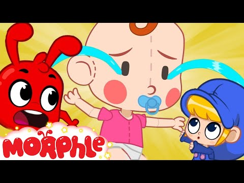 Mila and Morphle Babysit a GIANT BABY | Cartoons For Kids | Sandaroo Kids Channel
