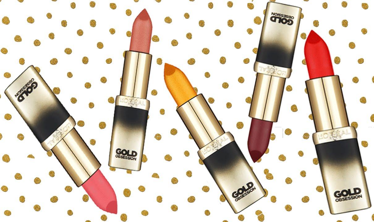 Gold Addiction Satin Lipstick by L'Oreal #4