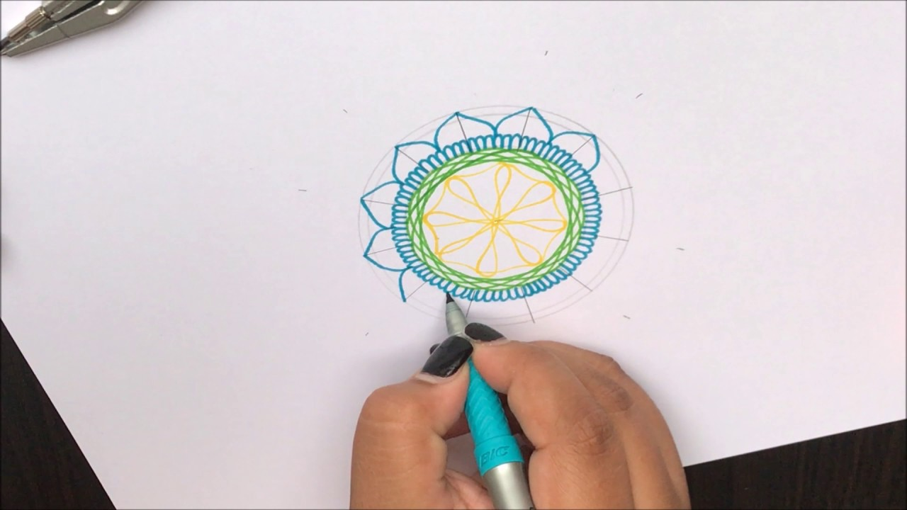 how to make a spirograph
