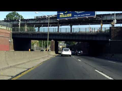 Cross Bronx Expressway (Interstate 95 Exits 7 to 1) south/westbound