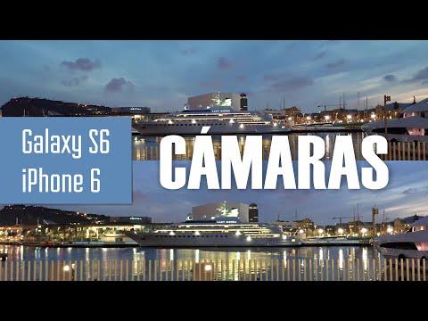 Cámara de Fotos GALAXY S6: Análisis y Comparativa vs iPhone 6 (Español)