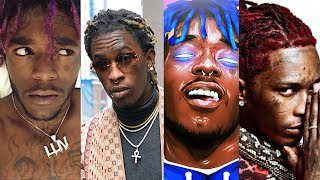 Young Thug KISSES Lil Uzi Vert Chain and Lil Uzi looked SHOCKED