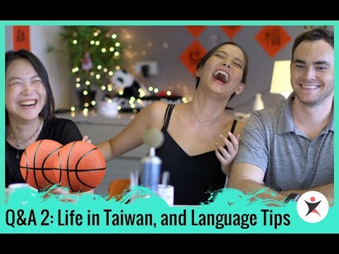 ChinesePod Q&A 2: Life in Taiwan and Language Tips