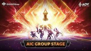 AIC 2019 - Day 3 - Group Stage