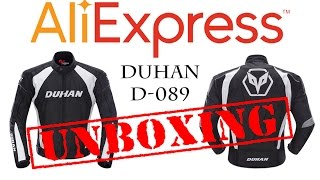 MOTOS E AFINS - UNBOXING ALIEXPRESS JAQUETA DUHAN D-089