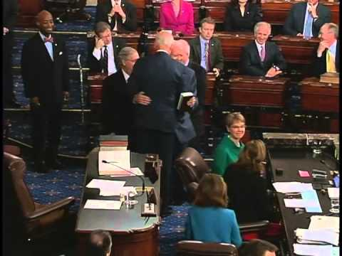 Senator Hatch Sworn in as Senate pro tempore