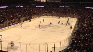 Florida Panthers vs Hurricanes NHL Hockey game 12/18/2011 - Panthers score first goal