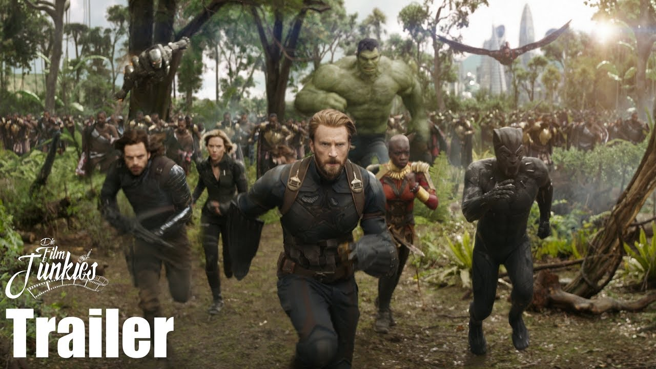 avengers infinity war trailer deutsch