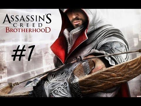 """Assassin's Creed: Brotherhood"", HD walkthrough (100% synchronization), Sequence 1: Peace At Last"