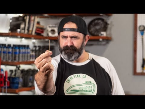 Inside A Motorcycle Carburetor - Needle Height Tuning Adjustment | MC Garage