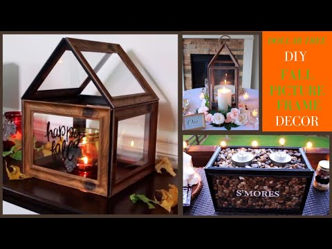 DIY DOLLAR TREE Fall Decor 2019 | Fall Home Decor DIY | 3 BEAUTIFUL & EASY Projects!