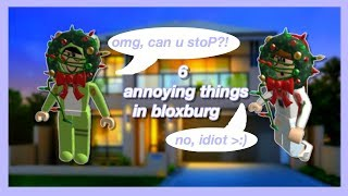 Types of Annoying People in Bloxburg || ROBLOX Version