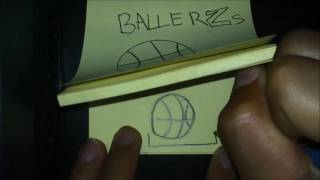 basketball flip book speed art!