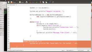 Java Programming Tutorial 49   Creating Socket Application to Send multiple Data to Server   YouTube
