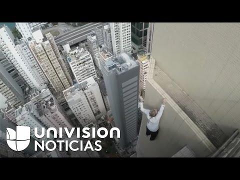Ruso De 22 Años De Edad Desafía Las Alturas En Dubái