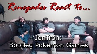 Renegades React to... JonTron - Bootleg Pokemon Games