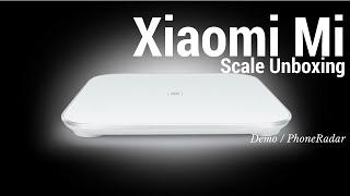 Xiaomi Mi Scale Unboxing Demo & App Features
