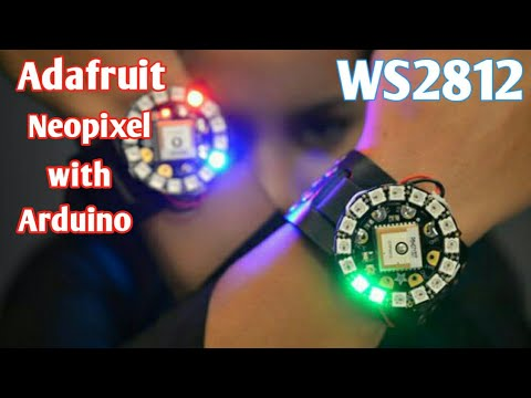 Neopixel ws2812 LED Strip or LED Ring 12bit with Arduino Tutorial